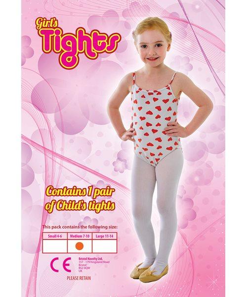 5b2226b69265 RED DRESS UP   DANCE CHILDS TIGHTS - UK 7-10 - girls fancy dress ...