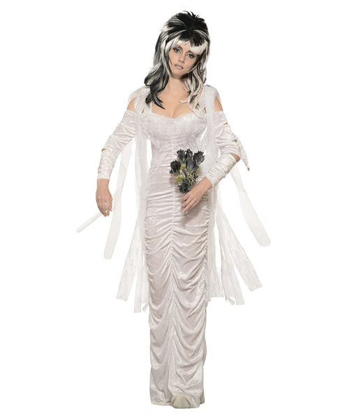 309a145862a Details about Haunted Bride Wedding Ball Gown Prom Halloween Ladies Fancy  Dress Costume