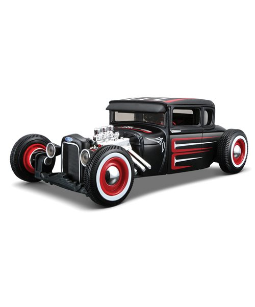 Build Your Own Ford >> Details About 1 24 Custom Shop Ford Model A 1929 Kit Build Your Own Car Vehicle Model Diecast