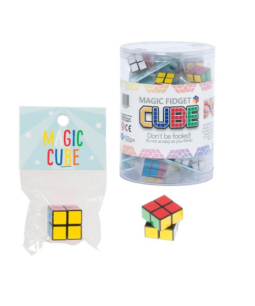 2X Christmas Puzzle Cube Stress Relief Fidget Sensory Toy Autism//special Needs