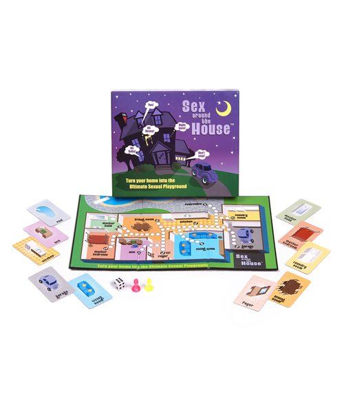 Sex Around The House Couples Board Game Fast Discreet Post Adult Cards Ebay